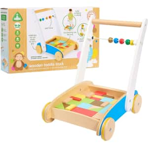 Early Learning Centre Wooden Toddle Truck for $11