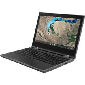 "Lenovo 300e Chromebook 2nd Gen 82CE0000US 11.6"" Touchscreen 2 in 1 Chromebook - 1366 x 768 - for $279"