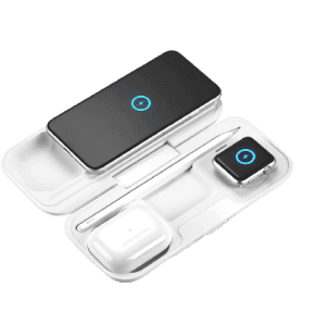 Momax Airbox 10,000mAh Wireless Charging Station for Apple Devices for $110