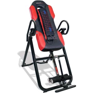 Health Gear Inversion Table w/ Massage & Heat for $180