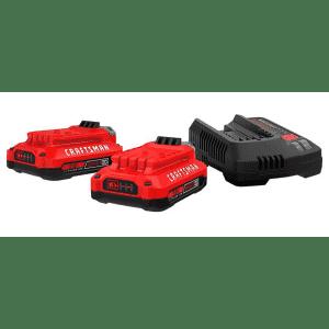 Craftsman V20 Battery Starter Kit for $79 + free Craftsman Bonus Tool