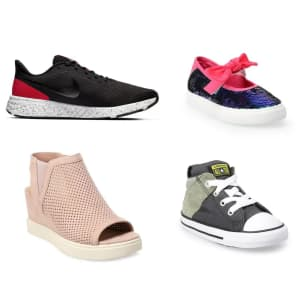 Kohl's Clearance Shoes: Discounts on over 500 pairs