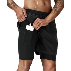 Runhit Men's Running Shorts for $14
