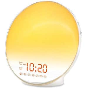 Sunrise Alarm Clock for $42