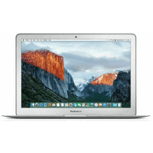 """Apple MacBook Air Broadwell i5 13.3"""" Laptop (2015) for $449"""