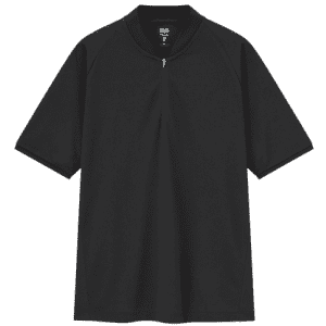Uniqlo Men's Theory Dry Ex Pique Slim-Fit Half-Zip Polo Shirt for $20