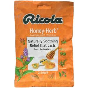 Ricola Natural Honey Herb 24-Drop Pack: 2 for $3
