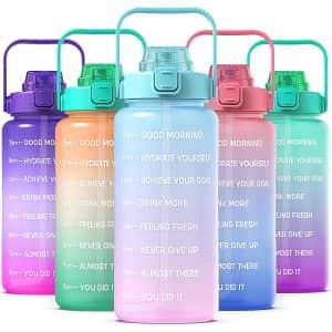 Kmybax 64-oz. Water Bottle for $8
