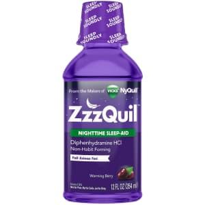 ZzzQuil Nighttime 12-oz. Sleep Aid Liquid for $8