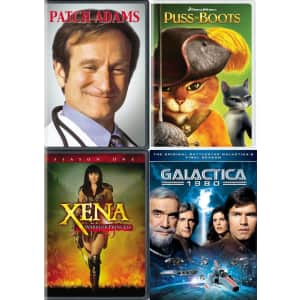 GRUV Movie & Box Set Clearance Sale: from $4