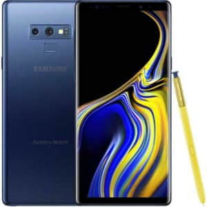 Samsung Galaxy Note 9 128GB GSM Android Smartphone for $315