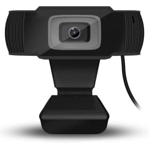 Ctstars Webcam with Microphone for $7
