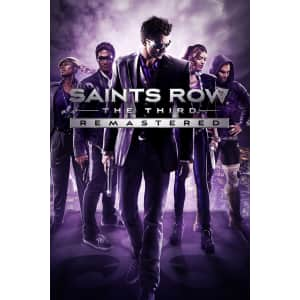 Saints Row: The Third Remastered for PC (Epic Games): free