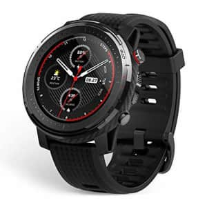 Amazfit Stratos 3 Sports Smartwatch Powered by FirstBeat, 1.34 Full Round Display, 80-Sports Modes, for $199