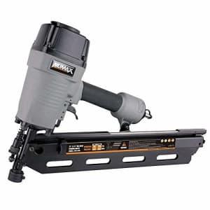 "NuMax SFR2190 Pneumatic 21 Degree 3-1/2"" Full Round Head Framing Nailer Ergonomic and Lightweight for $84"