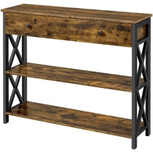 Wooden Console Table for $109
