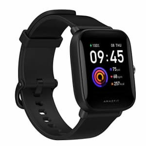 Amazfit Bip U Health Fitness Smartwatch with SpO2 Measurement, 9-Day Battery Life, Breathing, Heart for $78