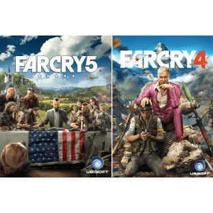 Far Cry 5 & Far Cry 4 for PC: $5