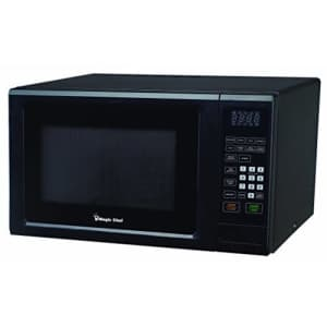 Magic Chef Black 1.1 Cu. Ft. 1000W Countertop Microwave Oven with Push-Button Door for $161