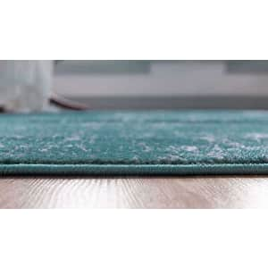 Unique Loom Sofia Traditional Area Rug, 7' 0 x 10' 0, Turquoise for $59