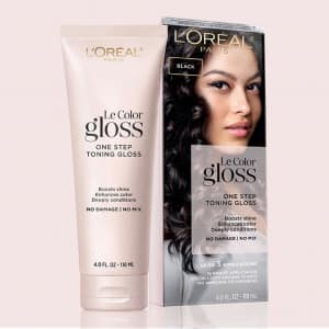 L'Oreal Paris Le Color Gloss In-Shower Toning Gloss: free sample