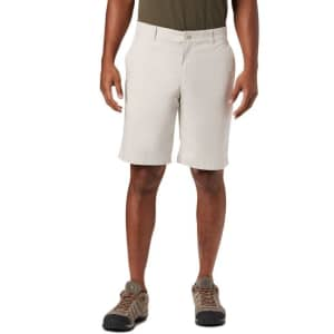Columbia Men's Outdoor Elements Chambray Shorts for $18