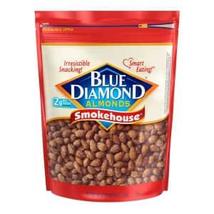 Blue Diamond Smokehouse Almonds 40-oz. Bag for $7.78 via Sub & Save