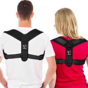 Schiara Adjustable Posture Corrector for $8