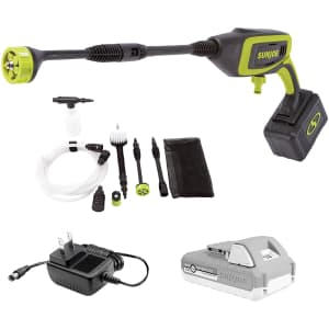 Sun Joe iON+ 24V 350-PSI Cordless Power Cleaner Bundle for $124