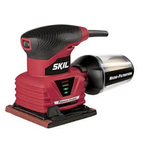 SKIL 7292-02 2.0 Amp 1/4 Sheet Palm Sander with Pressure Control for $35