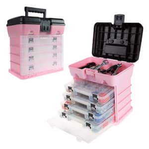 Stalwart - 75-ST6088 Storage and Tool Box- Durable Organizer Utility Box with 4 Compartments for for $36