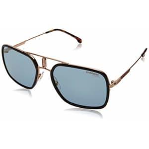 Carrera - CA1027S Black Gdcppr Aviator Men Sunglasses - 59mm for $131