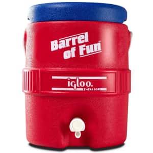 Igloo Barrel of Fun Retro Portable 2-Gallon Beverage Server for $27