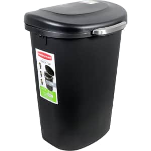 Rubbermaid 13-Gallon Touch Top Wastebasket for $40