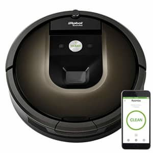 iRobot Roomba 985 Wi-Fi Connected Robot Vacuum, Black for $575