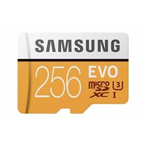 Samsung 256GB 100MB/s (U3) MicroSD Evo Memory Card with Adapter (MB-MP256GA/AM) for $71