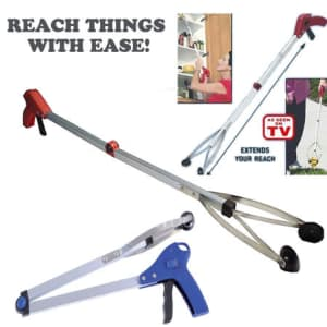 """24"""" Foldable Pick-Up and Reach Tool for $6"""