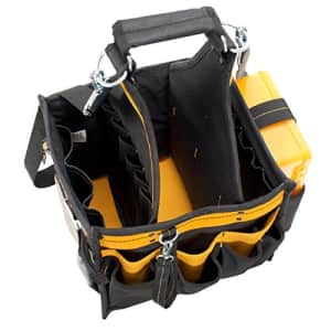 Custom LeatherCraft DEWALT DG5582 Electrical and Maintenance Tool Carrier & Parts Tray, 11 In., 23 Pocket for $60