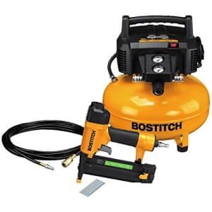 BOSTITCH U/BTFP1KIT 1-Tool and Compressor Combo Kit (Renewed) for $142