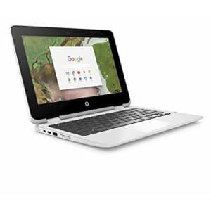 HP X360 Chromebook 11.6-inch 2-in-1 Touchscreen HD Laptop PC, Intel Celeron N3350 up to 2.4GHz for $350
