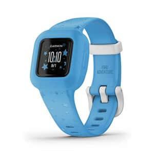 Garmin vivofit jr. 3, Fitness Tracker for Kids, Includes Interactive App Experience, Swim-Friendly, for $60