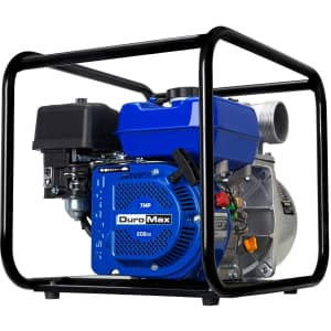 DuroMax Portable Gasoline Engine Water Pump for $279