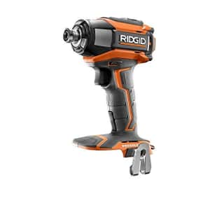 Ridgid R86037 18V Lithium Ion Cordless Brushless Impact Driver w/ LED Lighting and Quick-Eject for $85