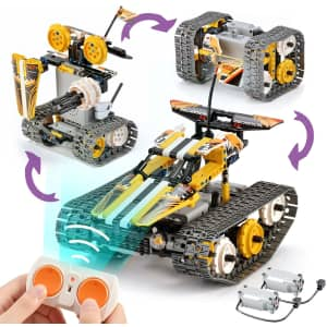 Hahaspil 3-in-1 RC Car Building Kit for $29