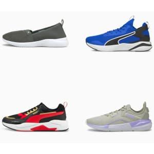 PUMA Footwear: under $40