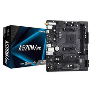 ASRock A520M/AC Micro ATX Motherboard for $111