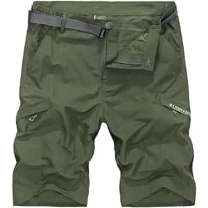 Vcansion Men's Hiking Shorts for $13