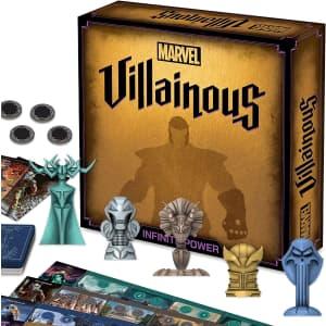 Marvel Villainous: Infinite Power Strategy Board Game for $24