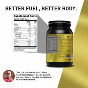 Pro JYM Protein Powder - Egg White, Milk, Whey Protein Isolates & Micellar Casein | JYM Supplement for $60