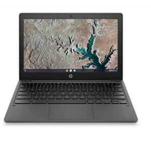 "New 2020 HP 11.6"" HD Chromebook for Students MediaTek MT8183 4GB LPDDR4 RAM 32GB eMMC Chrome OS for $169"